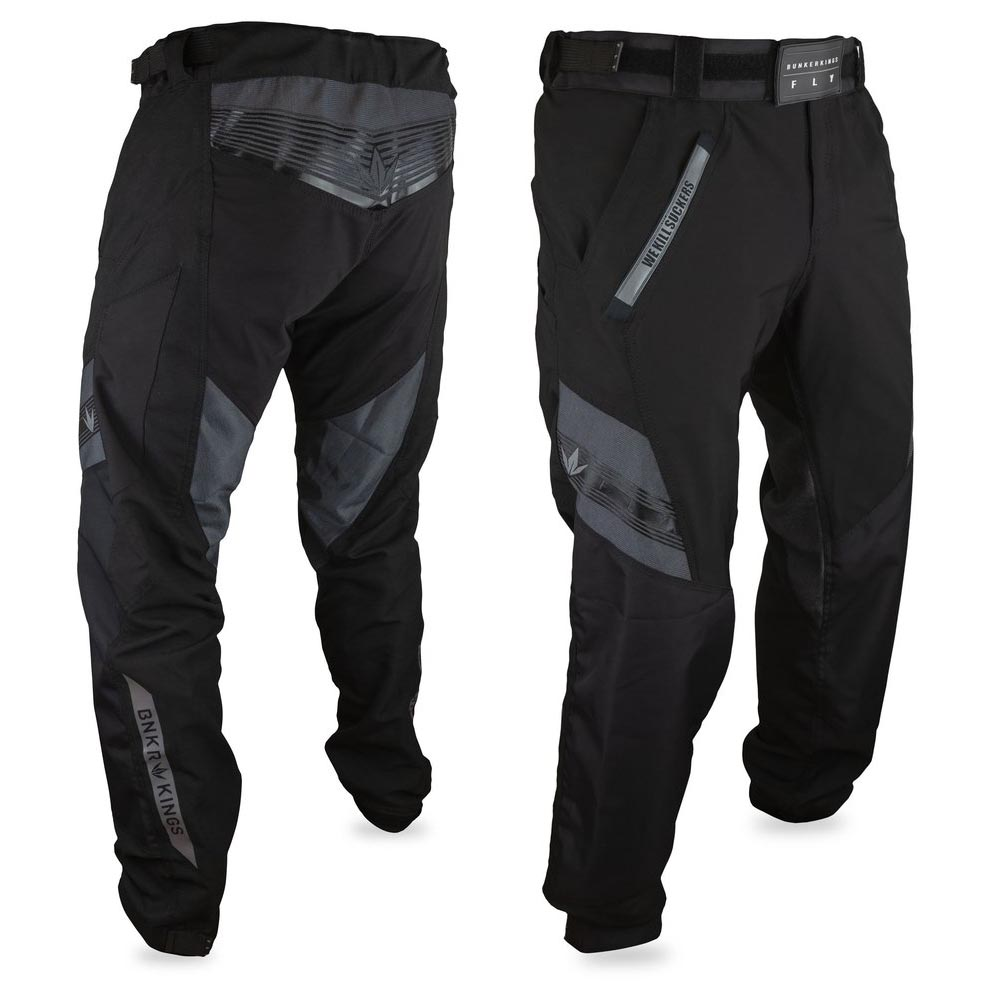Bunker Kings - Featherlite Fly Pants Black