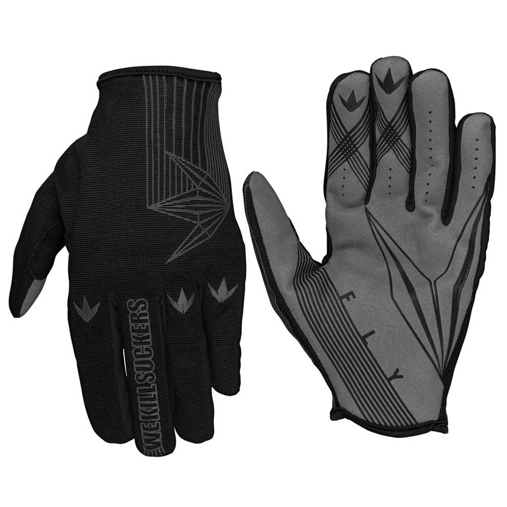 Bunker Kings - Fly Paintball Gloves - Black