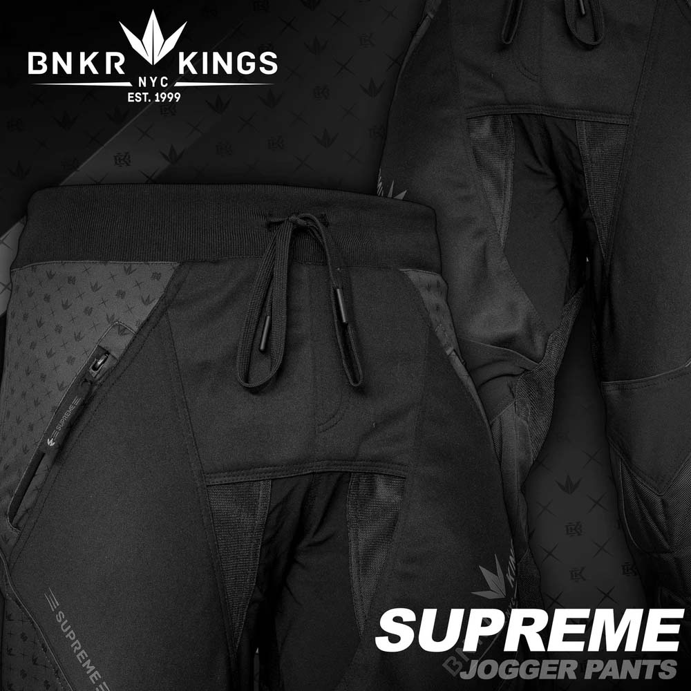 Bunker Kings - Supreme Jogger Pants - Royal Black