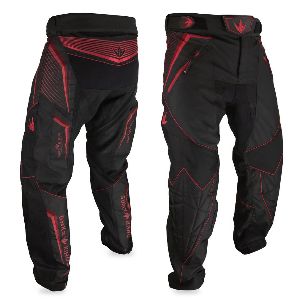Bunker Kings - Supreme Pants V2 - Red