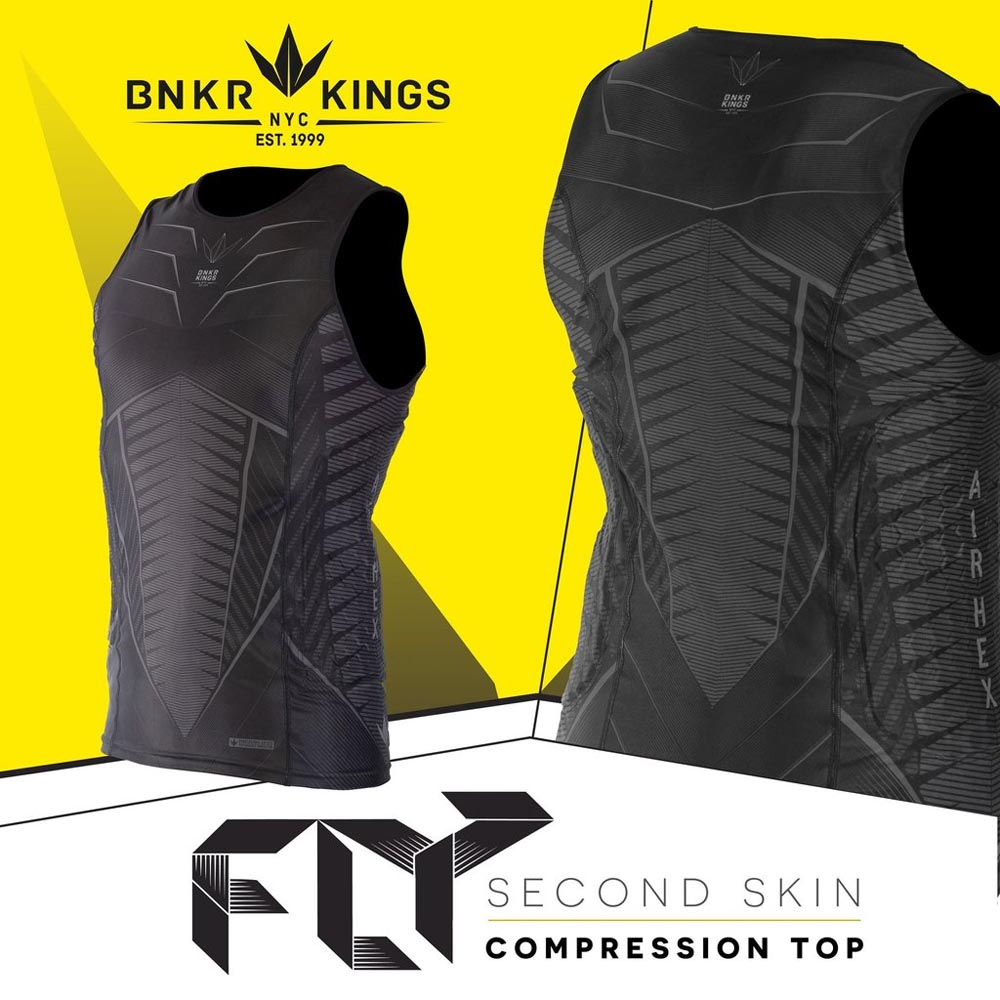 Bunker Kings - Fly - Sleeveless Compression Top