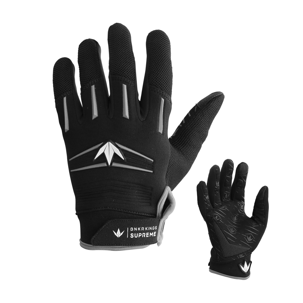 Bunker King Supreme Gloves - Stealth Grey