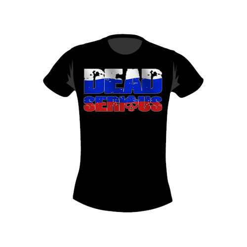 Dead Serious ® T-Shirt-Russia