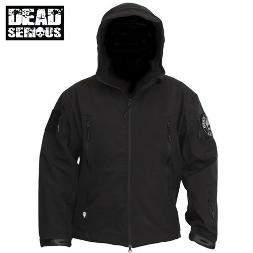 Dead Serious ® Soft Shell Jacket - Black
