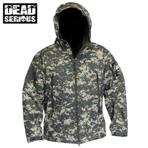 Dead Serious ® Soft Shell Jacket - Digicam