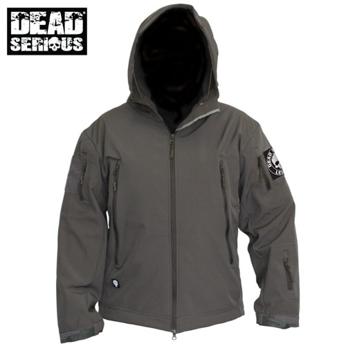 Dead Serious ® Soft Shell Jacket - Grey