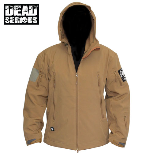 Dead Serious ® Soft Shell Jacket - Tan
