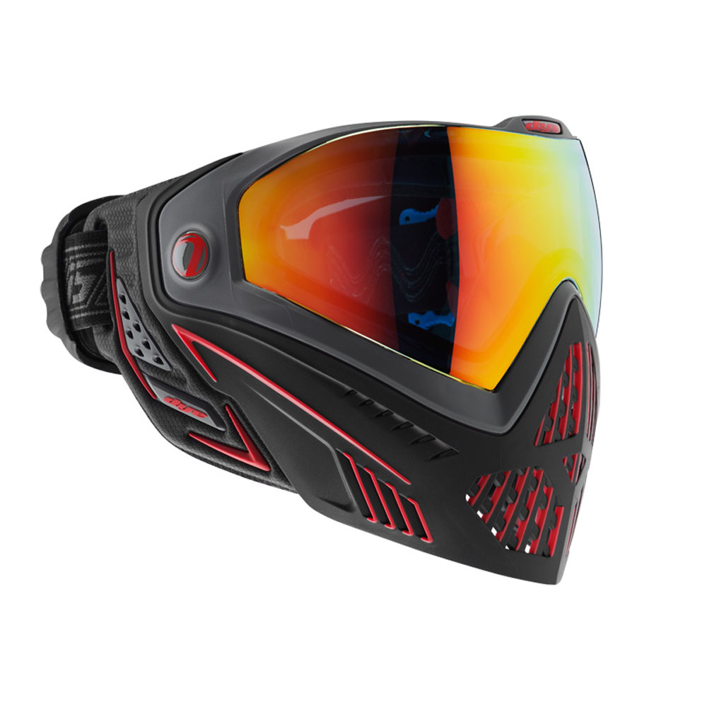 Dye I5 Goggle : FIRE Blk/Red