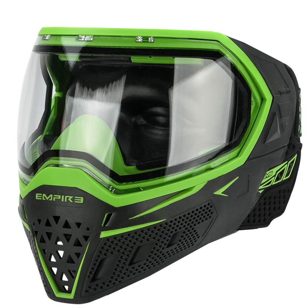 Empire EVS Goggle System - Black/Lime