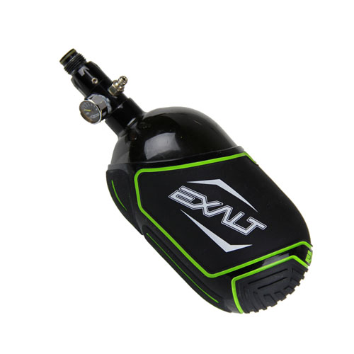 Exalt Medium Tank Cover - Black - Lime/White