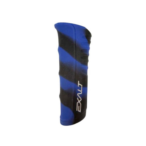 Exalt RSX Shocker Regulator Grip- Black Blue Swirl