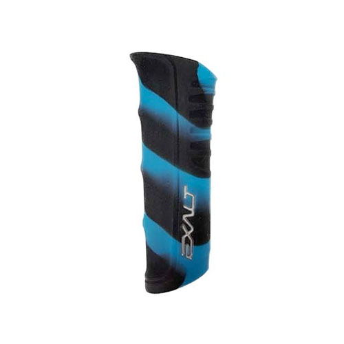 Exalt RSX Shocker Regulator Grip- Black Teal Swirl