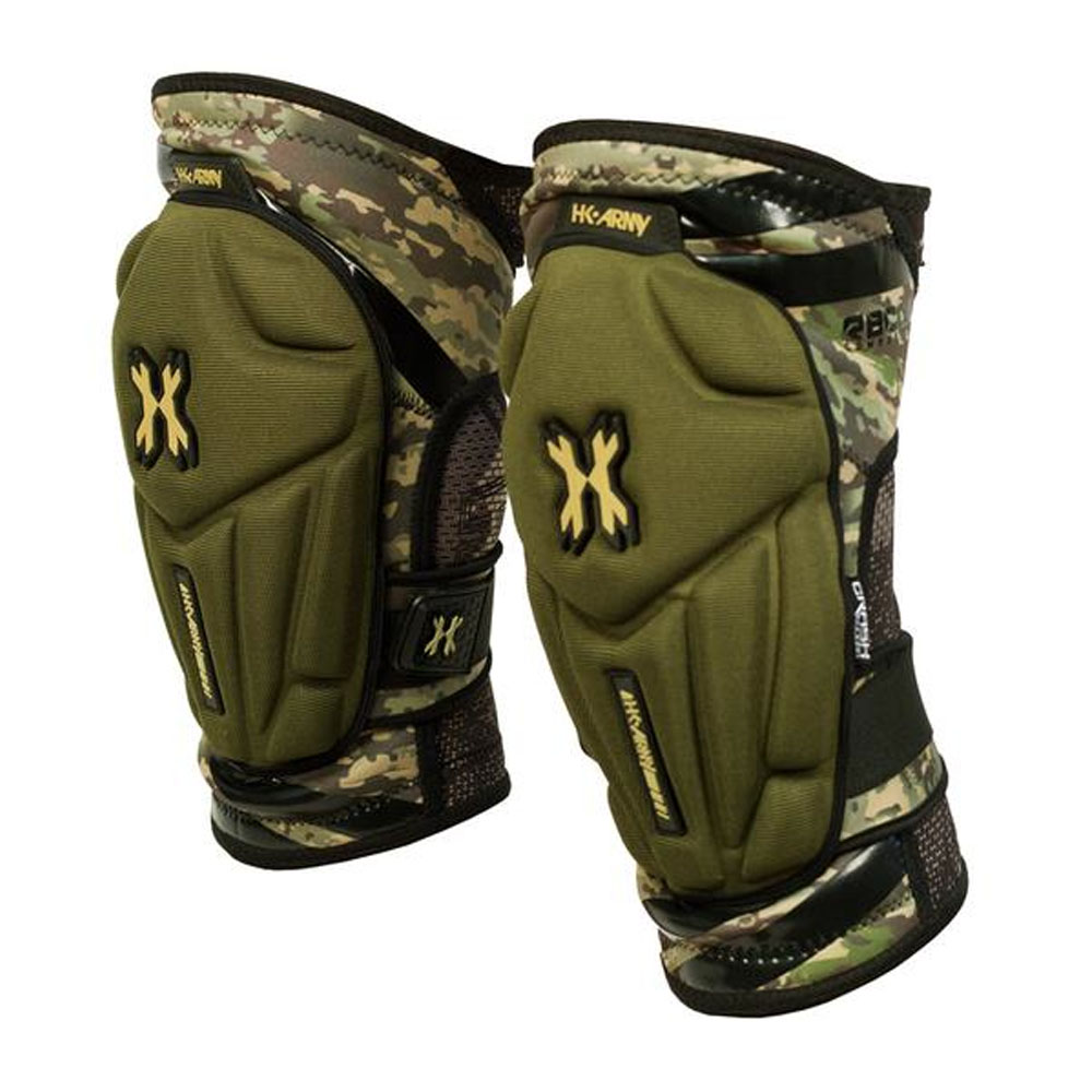 HK Army Crash Knee Pads - CAMO