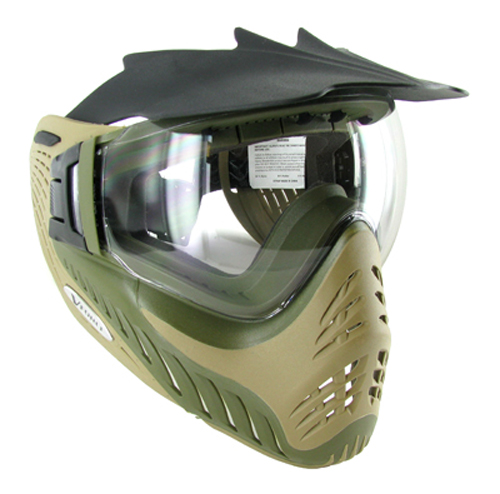 Vforce Profiler Goggle : Dual Olive/Tan