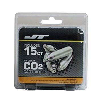 JT 12 GRAM PRE-FILLED C02 JETS  - 15 PACK