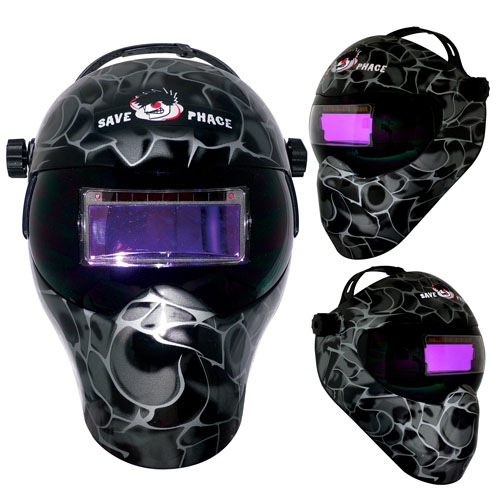 Save Phace Gen-X EFP Welding Mask- Black ASP