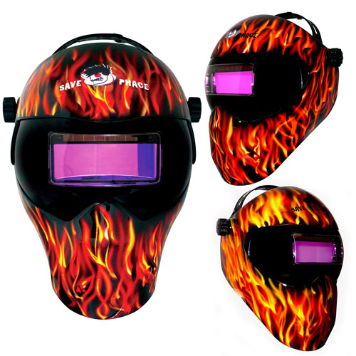 Save Phace Gen-X EFP Welding Mask- Inferno