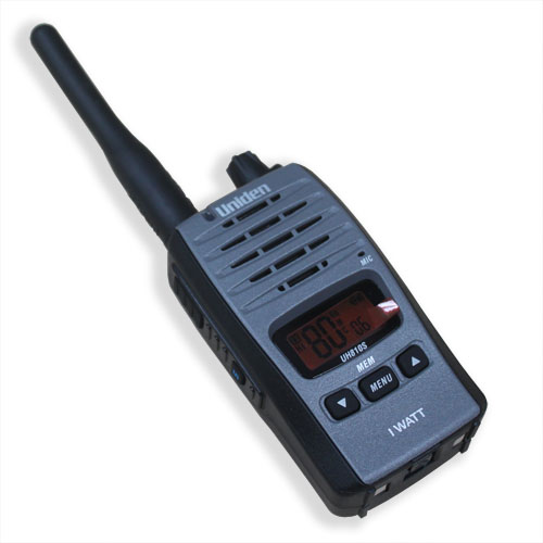 UNIDEN UH810S -80 Channel 1 Watt UHF Handheld Radio