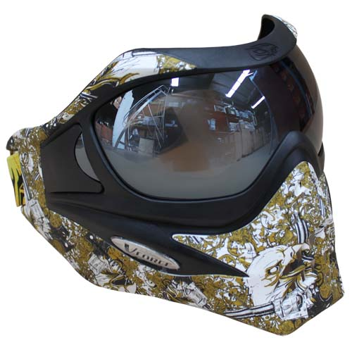 Vforce Grill Special Edition Goggles : Eagle Eye Gold