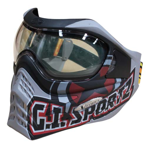 Vforce Grill Special Edition Goggles : GI Sportz Logo on Charcoal