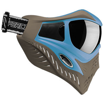 Vforce Grill Special Edition Goggles :Blue on Taupe