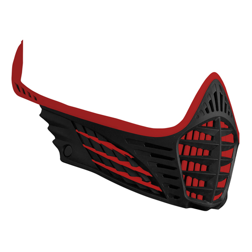 Virtue VIO Face Mask Red/Red/Black