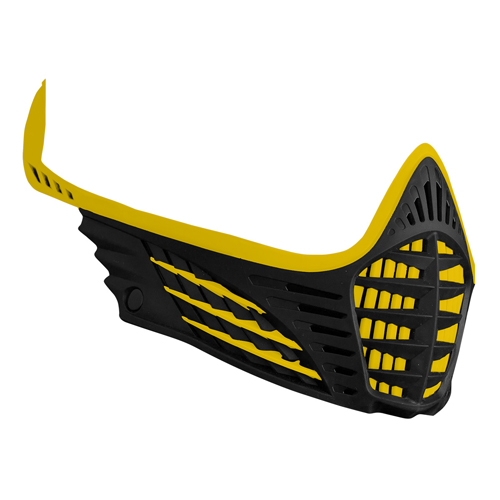 Virtue VIO Face Mask Yellow/Yellow/Black