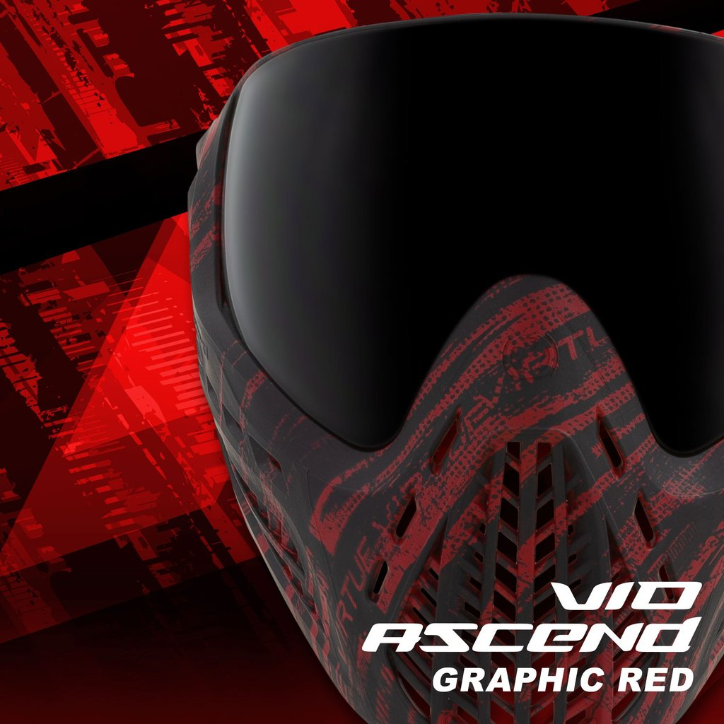 Virtue Vio Ascend Goggle Graphic Red