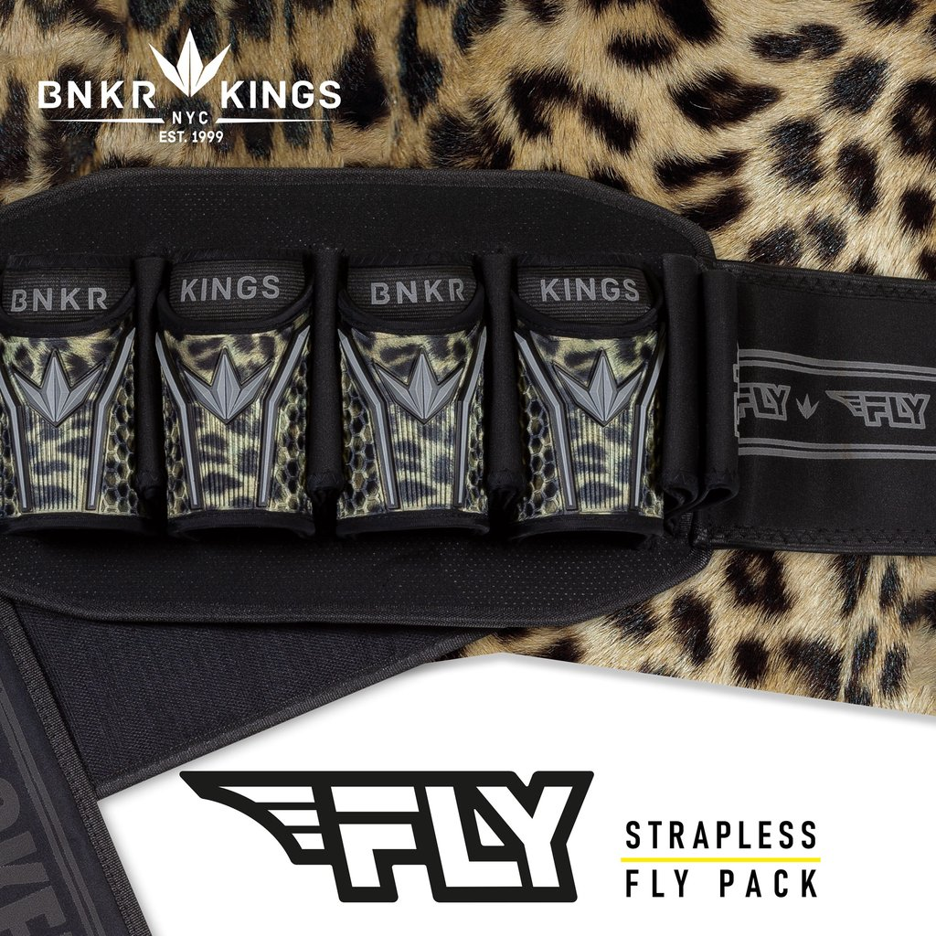 Bunker Kings Fly Pack - 4+7 Leopard