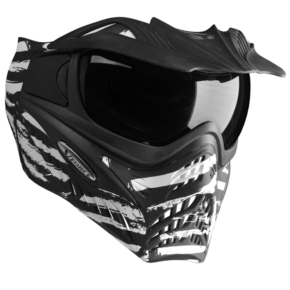 Vforce Grill Special Edition Goggles : Zebra