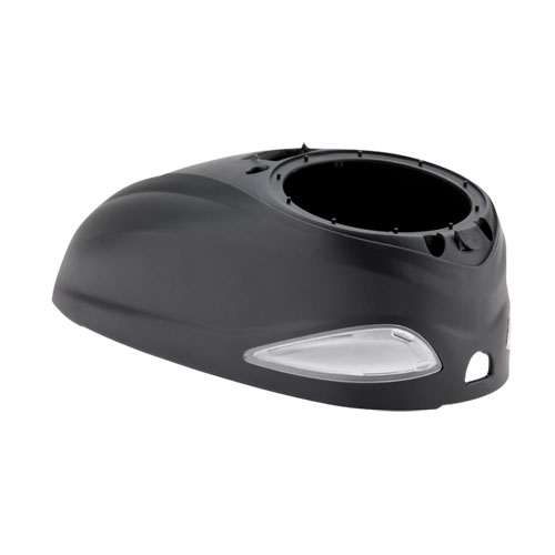 Dye Rotor High Capacity Topshell - Black